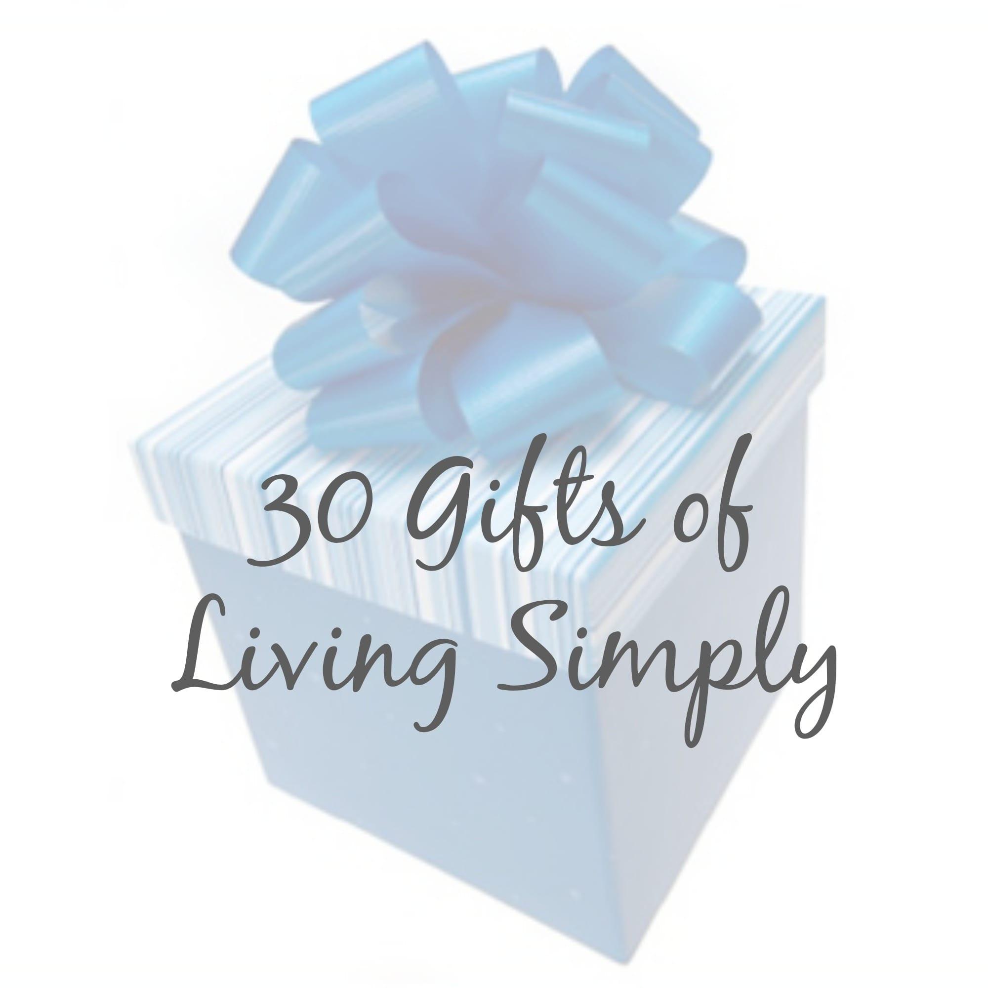 living simply gifts