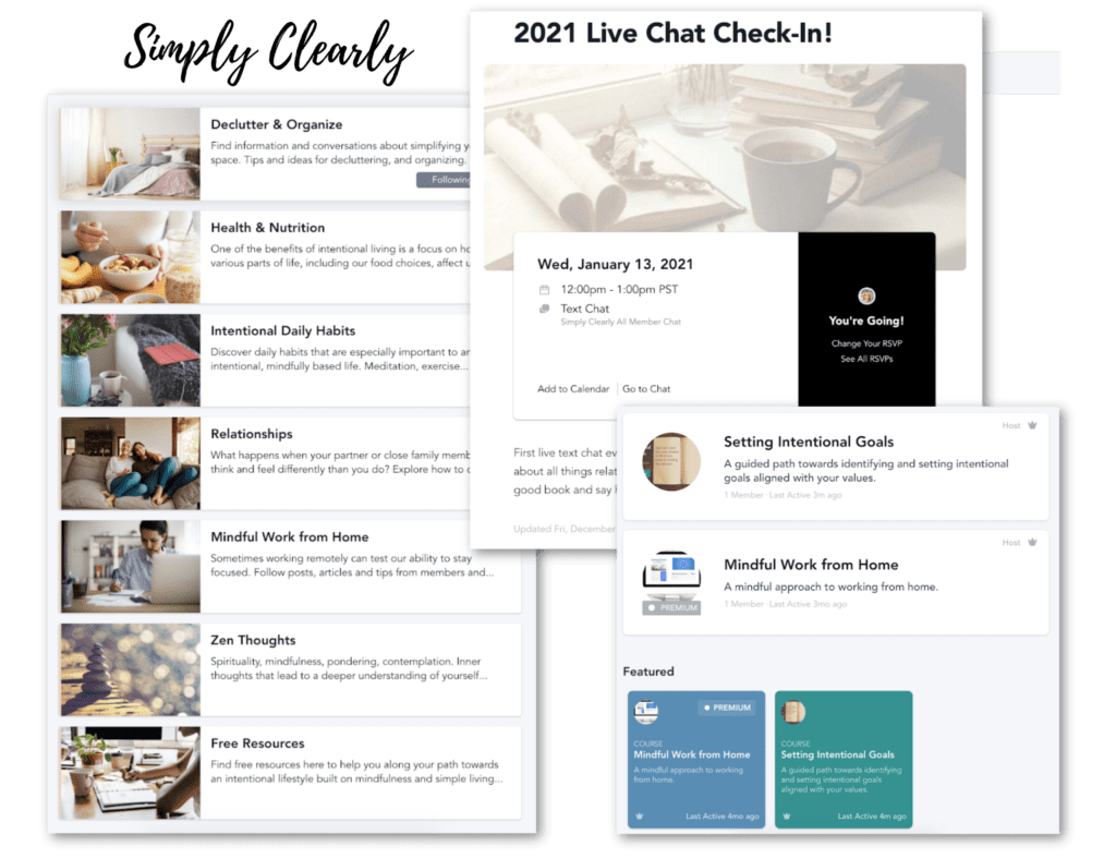 simplyclearly community